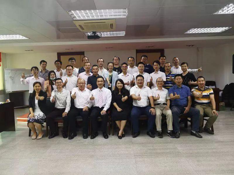 公司开展2018年第一期TTT内训师培训